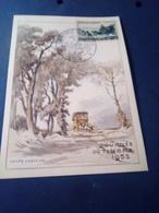 Carte Illustrée Cheffer  Journée Du Timbre 1952 Lyon  N°919 - FDC
