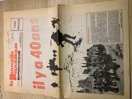 Journal 1984 - 40ans De La Libération - Historical Documents