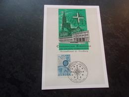 FRANCE (1967) Confédération Européenne Des Anciens Combattants (strasbourg) - Maximum Cards