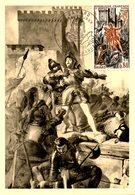 FRANCE. N°1579 Sur Carte Maximum De 1968. Jeanne D'Arc. - Maximum Cards