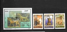 Irak:Bf N°97 Et N°1538/39/40** Patrimoine Historique - Iraq