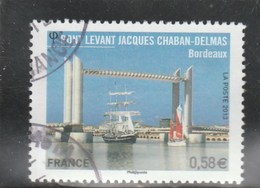 FRANCE 2013 PONT LEVANT J CHABAN-DELMAS YT 4734 OBLITERE -                                          TDA24A - France