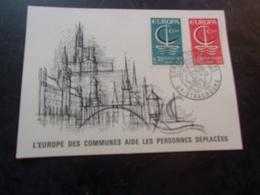 FRANCE (1966) EUROPA (strasbourg) - Maximum Cards