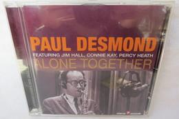 "CD ""Paul Desmond"" Alone Together - Jazz"