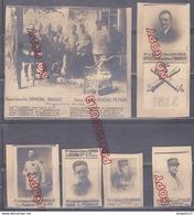 Au Plus Rapid Bel Ensemble Autour De La 77 ème Division D'Infanterie Photographie Héliotype ? à étudier Général Officier - 1914-18