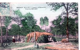 BRUNOY (S.-et-O.) - Cabane De Bûcherons - Forêt De SENART - Brunoy