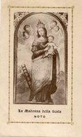 Noto (Siracusa) - Santino Antico LA MADONNA DELLA SCALA 1938 - P90 - Religione & Esoterismo