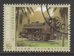 Christmas Island 1994 Steam Locomotives 95 C Multicoloured SW 397 O Used - Christmas Island