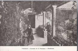 Fiesole - Convento Di San Francesco - Giardinetto  - HP1602 - Firenze