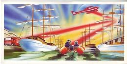 Thèmes. Voeux. Nouvel An. Carte De Voeux Double Sapeurs Pompiers Rouen 1999. Armada Du Siecle - New Year