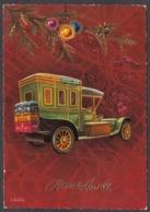 97812/ NOUVEL AN, Ancienne Voiture, Auto, Illustrateur L. Dobon - Nouvel An
