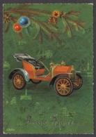 97813/ NOUVEL AN, Ancienne Voiture, Auto, Illustrateur L. Dobon - Nouvel An