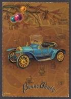 97814/ NOUVEL AN, Ancienne Voiture, Auto, Illustrateur L. Dobon - Nouvel An