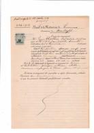 Bail De La Métairie De Lourioux Monterfil (Ille Et Vilaine)...1924 - Manuscrits