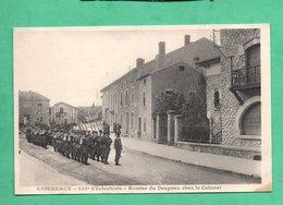 55 Meuse Commercy 155eme Regiment D 'infanterie Remise Du Drapeau Chez Le Colonel - Regimientos