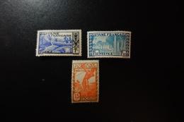 GUYANE Série 174/76* Mh - Neufs