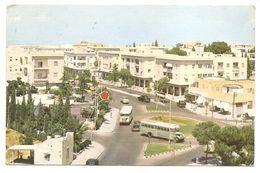 HAIFA - Centre On Mt. Carmel - (Palphot).... Autocars, Immeubles... - Israel