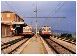 9R Treno Fiat ALn 776 (FAS) Railroad San Vito Lanciano (CH) Trein Railways Treni - Treni