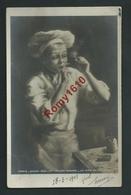 Métiers. Cuisinier, Fumeur De Pipe, Alumettes... Paris, Salon 1904 Mme Palade Bonnal. Circulé En 1905. - Métiers