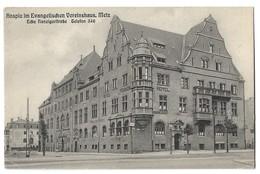 CPA Metz Hospiz Im Evangelishchen Vereinhaus - Metz