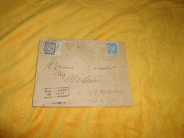 ENVELOPPE UNIQUEMENT DE 1893.../ CACHETS GUERANDE POUR ANCENIS..TIMBRE DONT TAXE 30C. - Postmark Collection (Covers)