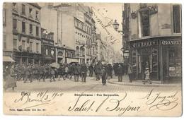 CPA Metz Rue Serpenoise Nels 1904 - Metz