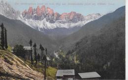 AK 0163  Die Geislerspitzen Vom Weg Zur Schlüterhütte - Villnös Um 1907 - Bolzano (Bozen)