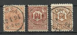 GERMANY O 1890 BREMEN ? Privater Stadtpost Local City Post - Poste Privée