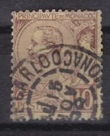 MONACO 1891-94:   Le 10c.   Oblitéré - Monaco