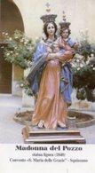 Squinzano (Lecce) - Santino MADONNA DEL POZZO Convento S. Maria Delle Grazie (Statua Lignea 1840) - PERFETTO P99 - Religione & Esoterismo