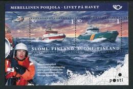 """Feuillet** De 2007 De Finlande De 2 Timbres """"Bateaux De Sauvetage"""" - Finlande"""