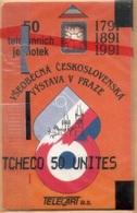 Czechoslovakia - KSTK C-2, Všeobecná Československá Výstava V Praze, SC6, 50U, %20,000ex, 1991, Mint - NSB - Czechoslovakia