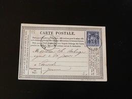 CARTE PRECURSEUR   AUXERRE POUR LAROCHE - Cartes Précurseurs