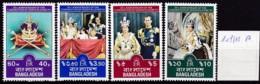 Bangladesch, 1978, 109/12 A, 25. Jahrestag Der Krönung Von Königin Elisabeth II. MNH ** - Bangladesch