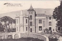17. SAINT BONNET.  CPA. ANIMATION DEVANT LE CHÂTEAU DE CHEMINÉES. ANNÉE 1931 - France