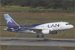 LAN Airlines S.A Airbus A319-100 CC-BCD At Kota Kinabalu Malaysia - 1946-....: Era Moderna