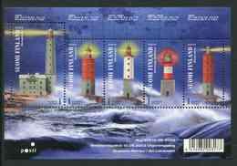 "Feuillet** De 2003 De Finlande De 5 Timbres Gommés ""Phares"" - Finlande"