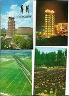 CHINE CHINA, Chengchow Postcard, CARNET DE 10 CARTES NEUVES BUILDING Tractor Plant USINES - Chine