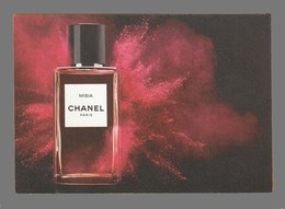 Carte Publicitaire Format Carte Postale -  Misia De Chanel - Perfume Cards