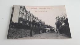 *VAL-ST LAMBERT La Cristallerie Avenue Emma  Belle Animation Attelage . Oblitérée En 1908 - Seraing