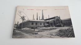*VAL-ST LAMBERT La Cristallerie  Halle 5 . Oblitérée En 1908 - Seraing