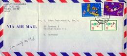 1979 , JAPÓN - JAPAN , SOBRE CIRCULADO , CORREO AÉREO , FRANQUEO MÚLTIPLE , TOKYO - 1926-89 Empereur Hirohito (Ere Showa)
