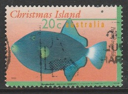 Christmas Island 1996 Fish 20 C Multicoloured SW 419 O Used - Christmas Island