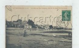 Le Pouliguen (44) : Les Chalets Villas De Côte Pen-Château Vue De La Plage Sainte-Anne En 1910 (animé) PF - Le Pouliguen