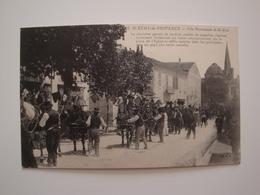 13 Saint -Rémy De Provence.Fête Patronale De St-Eloi.trés Joli Gros Plan. - Saint-Remy-de-Provence