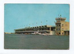 AFRICA 1960s Postcard AIRPORT BEIRA MOZAMBIQUE MOÇAMBIQUE AIRPLANES AIRCRAFT AIRPORTS - Mozambique