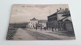 *VIERVES  (Villégiatures) La Gare. Oblitérée Début 1918 - Viroinval