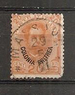 Eritrea Nº Yvert  16 (usado) (o) (defectuoso) - Eritrea