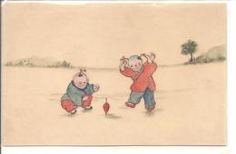Dessin D'enfants Qui Jouent - Chine