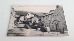 *VIERVES Ecole Des Filles Et Rue De La Station . Oblitérée Début 1922 - Viroinval